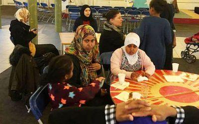 Somaliere samlede ind til deres nye lejlighed