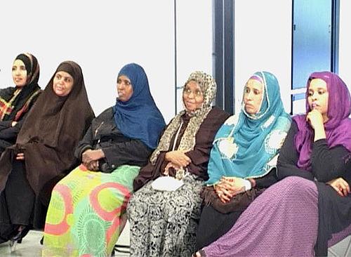 Kvinder diskuterede deres muligheder