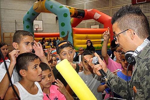 600 glade børn til sommerfest