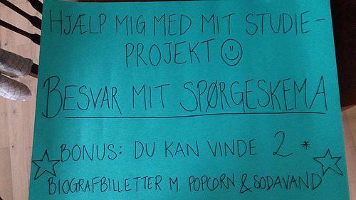 Hjælp en studerende