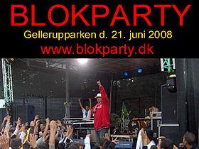 Blok Party Aflyst