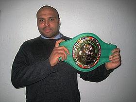 Europamester i thai-boksning