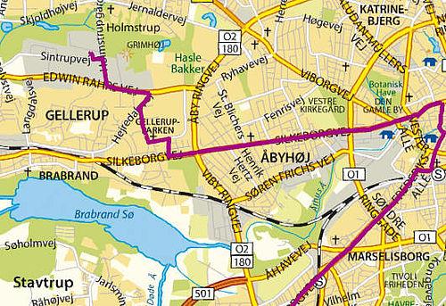 Alle busser til Gellerup forsvinder…