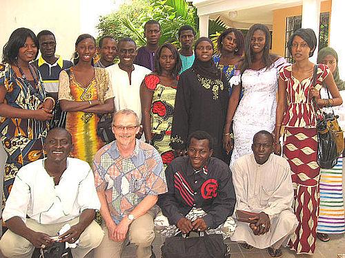 Lokaljournalistik eksporteret til Gambia