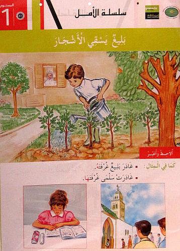 Kan man lære arabisk på fransk?