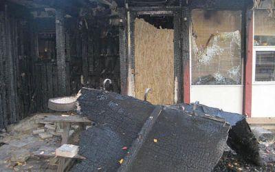To drenge sigtet for brande