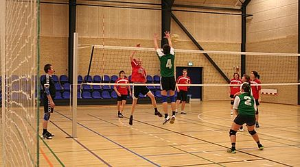Kom og se volleyball i Globus1