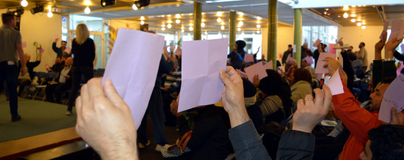 Afdelingsmøde i Gellerupparken blev suspenderet