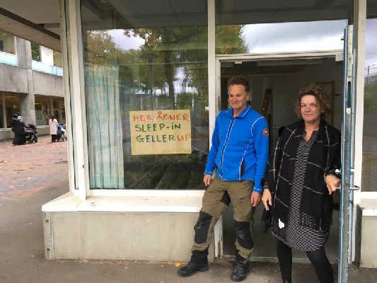 God beslutning at åbne hostel i Gellerup