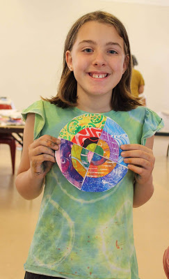 A great collaborative project for students to partake in using circles, cutting and even math!