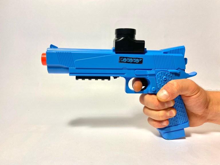 Gellyball Blaster, pistol, blue