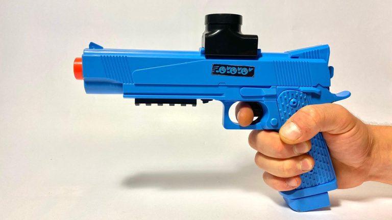Gellyball Blaster Blauw