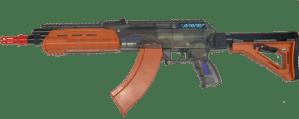 AK 47 Gellyball geweer