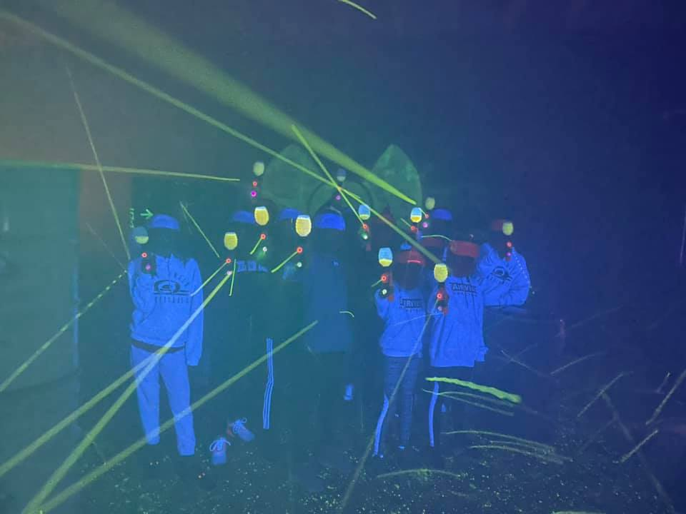 Gellyball glow in the dark