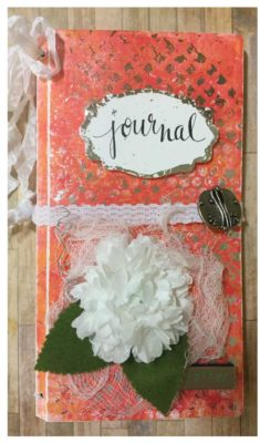 Sunny Delight Journal by Eileen Hull