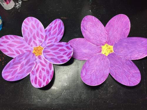 Both completed flowers