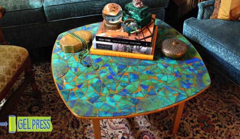 60s Inspired Mosaic Table with Mark Montano