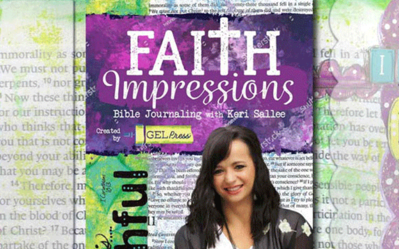 Faith Impressions by Keri Sallee for Gel Press