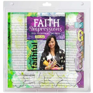 10803-FAITH-01 Gel Press Faith Impressions by Keri Sallee