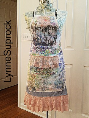 Altered Apron by Lynne Suprock for Gel Press