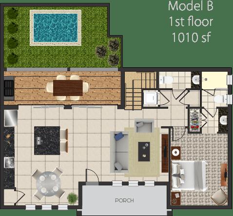 model-b-planta