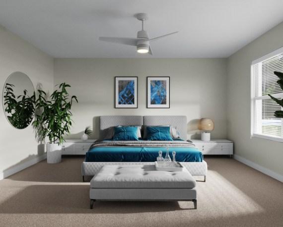 Unit A Master Bedroom