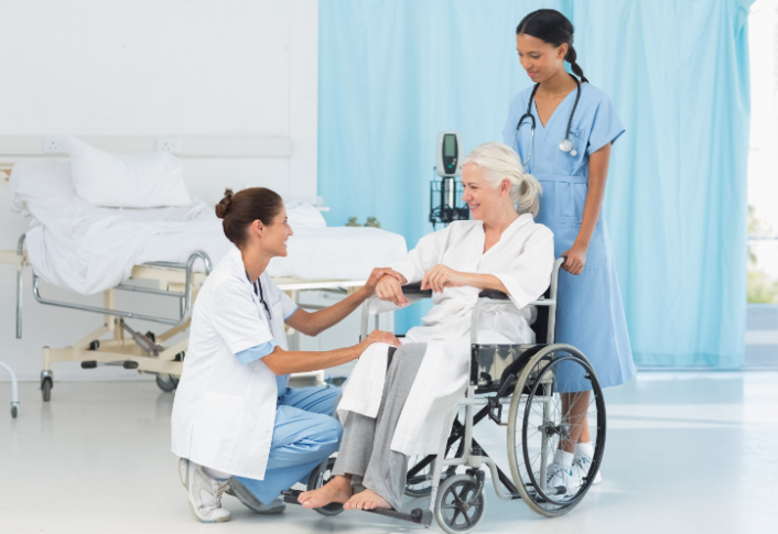 doctor-nurse-patient-wheelchair