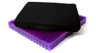 Double Purple™ Gel Seat Cushion
