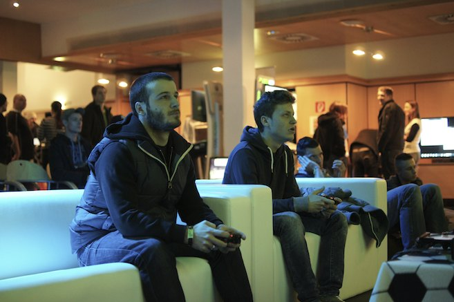 eSport Soccer Cup 2013 - Gaming Area