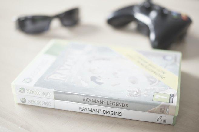 Rayman Legends - Origins, Legends, Sunglasses & Xbox 360 Controller