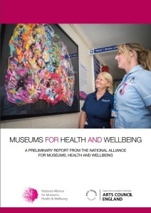 Museums for Health and Wellbeing report cover