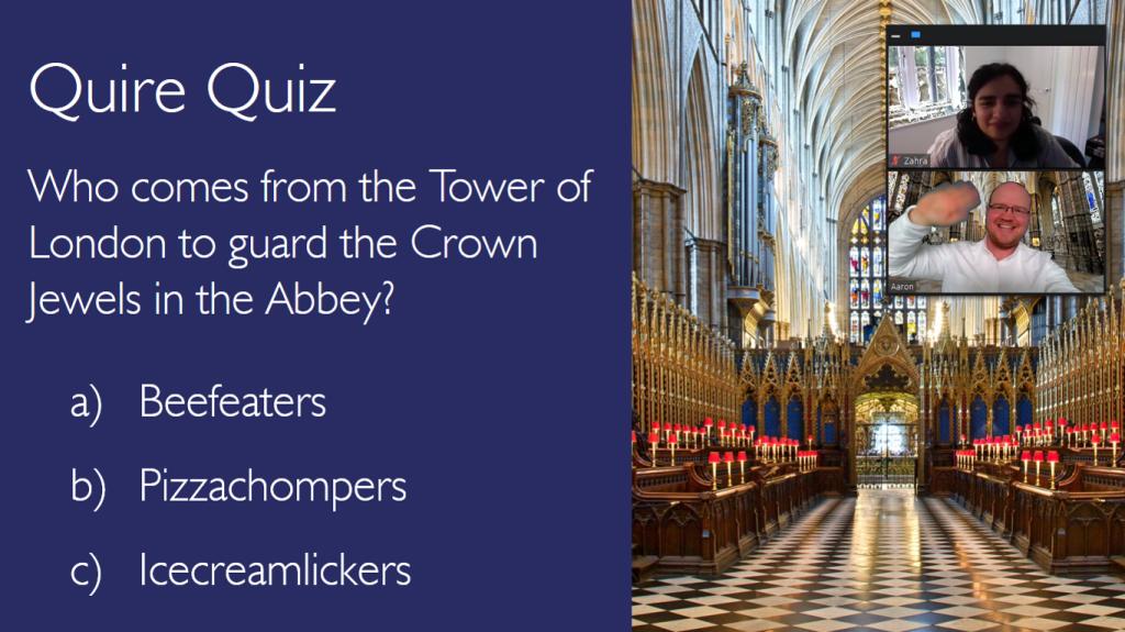 Westminster Abbey, Digital, Learning, GEM, Education Skills Share