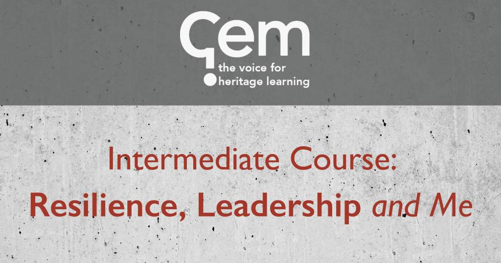 GEM, Course, Resilience, Leadership
