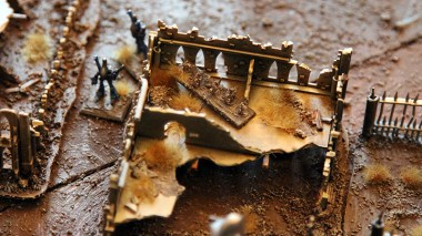 Epic Armageddon Scenery - ruined city attack