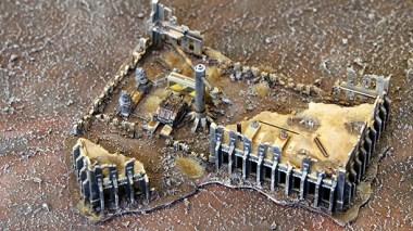 Epic Armageddon Scenery - ruined Manufactorum 2