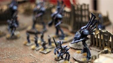 Phantom Titan and Eldar Knights