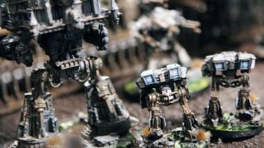 Epic Armageddon - Warhound and Imperator Titan