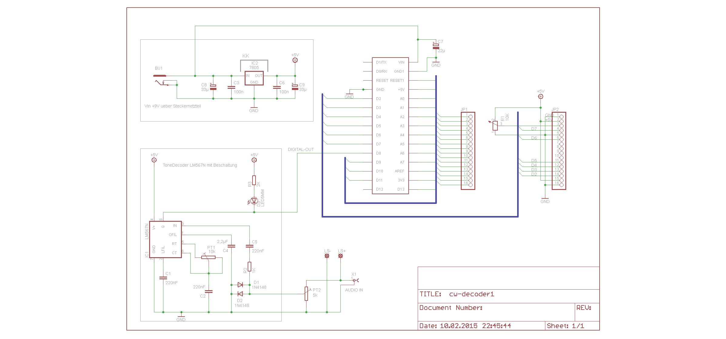 Multifunktions Cw Deko Rung Mit Arduino 3