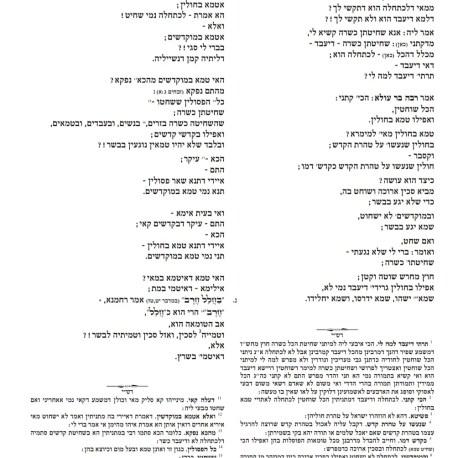 דף דוגמא חולין גמרא סדורה המאיר 2