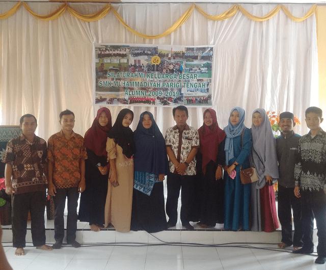 SMK Muhammadiyah Parigi Tengah Gelar Acara Silahturahmi Alumni