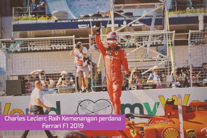 F1 GP Belgia, Kemenangan Perdana Ferrari Musim 2019