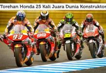 Honda Raih Juara Dunia Konstruktor MotoGP