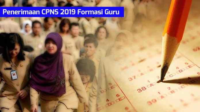 Sertifikat Pendidik Menjadi Syarat Mendaftar CPNS 2019 Formasi Guru