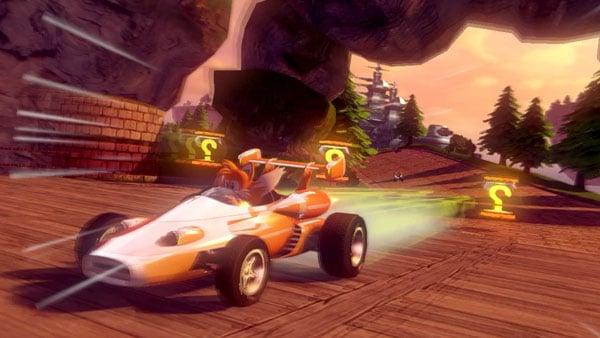 Sonic Amp All Stars Racing Transformed Launch Trailer Gematsu