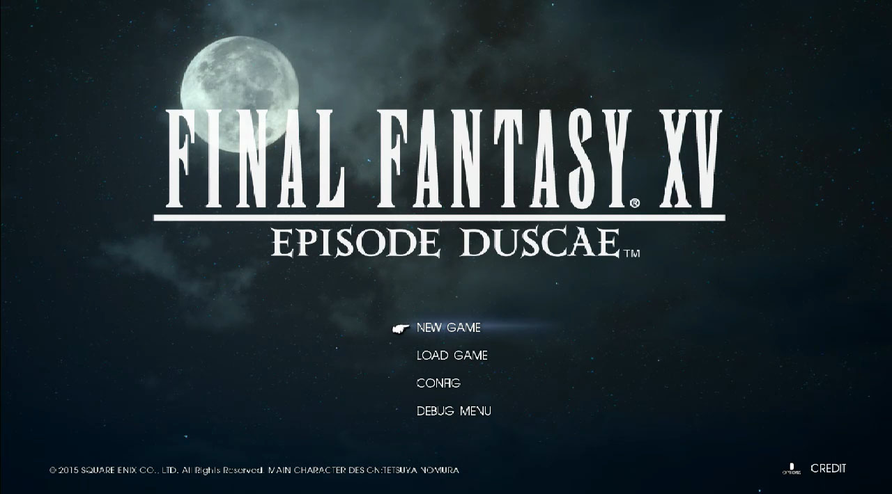 Final Fantasy XV Episode Duscae Demo Special Reveal Live