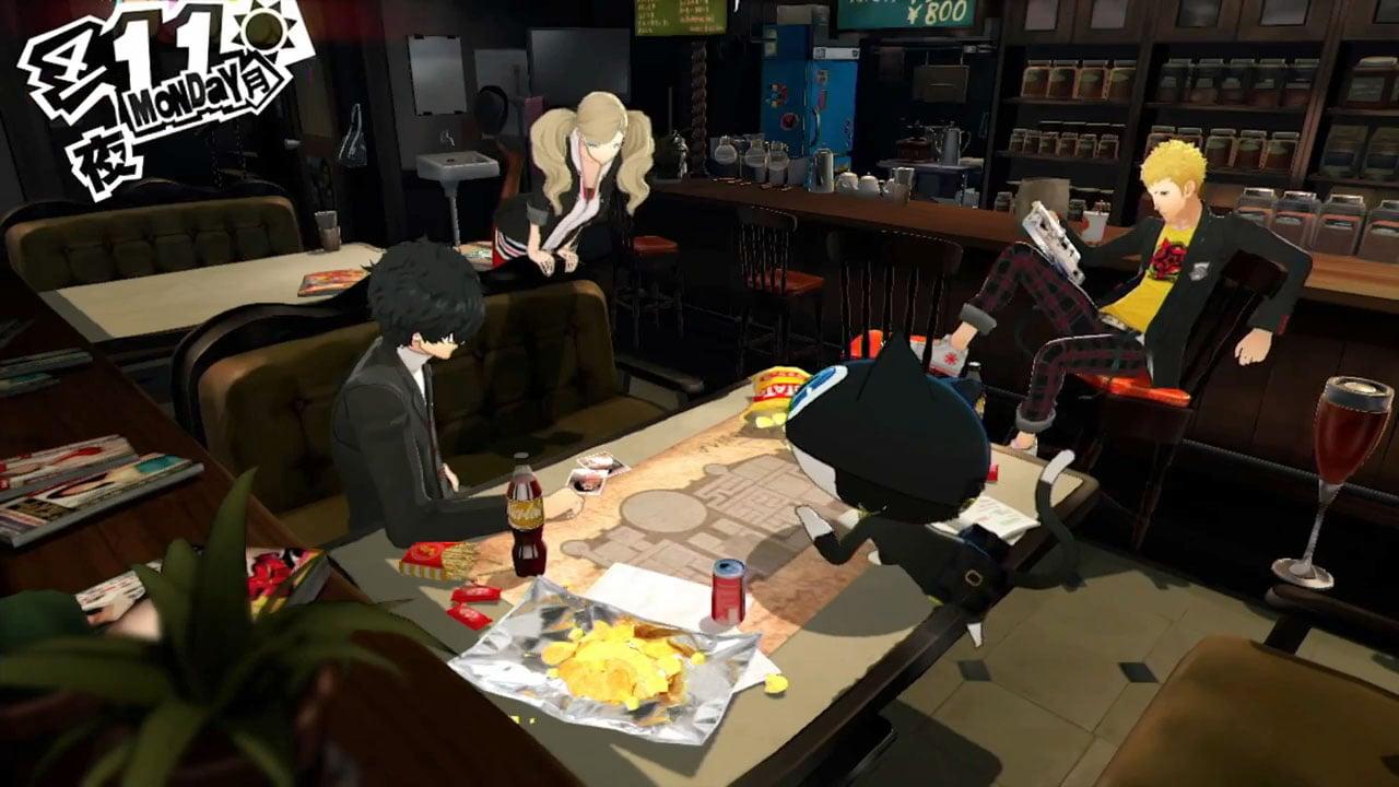 Persona 5 Debut Gameplay Trailer Gematsu