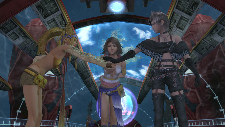 Final Fantasy X X 2 HD Remaster Dated For PS4 Gematsu