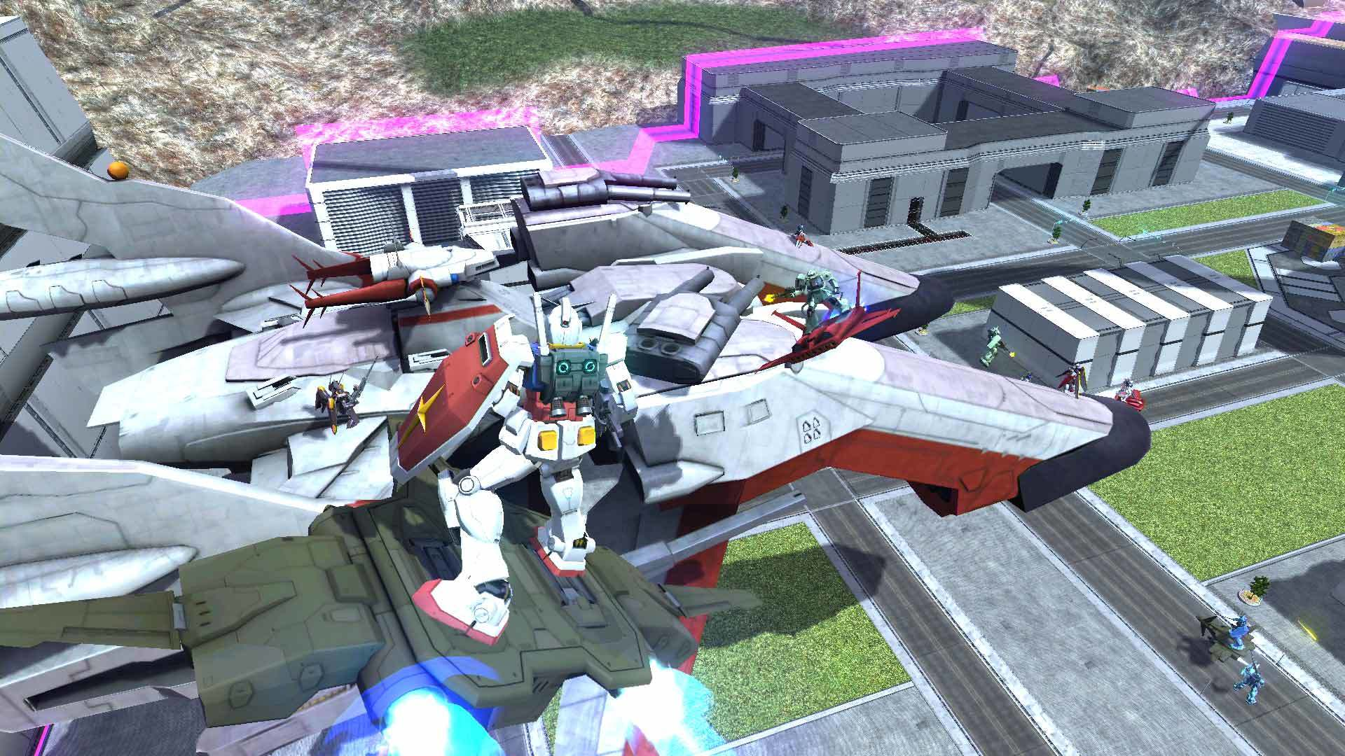Free To Play Gundam Battle Operation Next Announced For