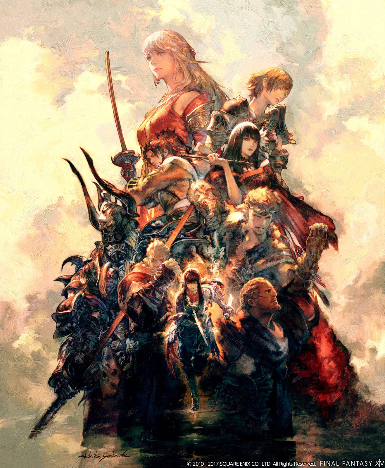 Final Fantasy XIV Stormblood Adds Samurai Job Opening
