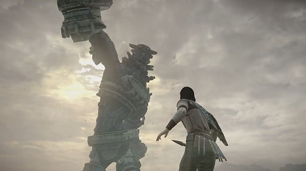 Shadow of Colossus PS4 TGS 2017